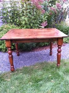 4' x 3' Pine Farm Tables