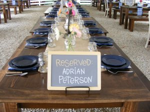 AP Head Table